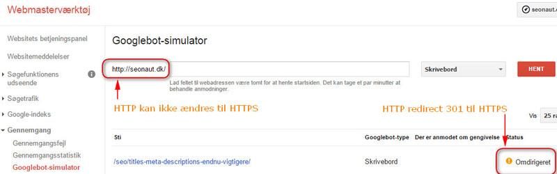 Googlebot Simulator HTTP