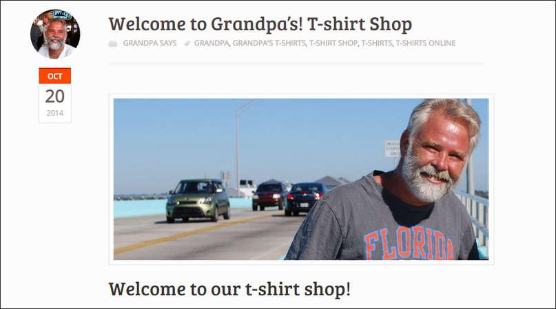 Woocommerce T-shirt Webshop